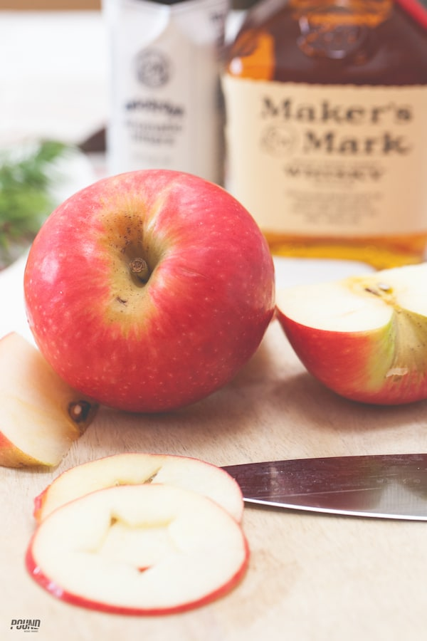 """Check out this holiday-inspired Apple Cider Cocktail called """"An Apple A Day!"""""""