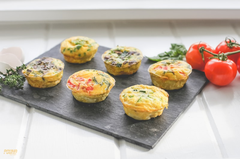 Want an easy, on-the-go breakfast option for the new year? Try these breakfast frittatas in a cupcake pan!