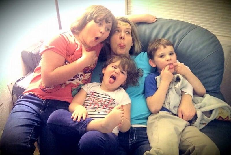 My kiddos and I